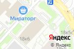 Схема проезда до компании JOJO-Haircosmetics в Москве