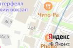 Схема проезда до компании Мособлрегистратор в Москве