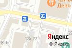 Схема проезда до компании Креатив Офис в Москве