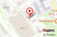 Схема проезда до компании Сибдорстрой в Москве
