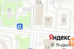 Схема проезда до компании Ортомини в Москве