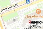 Схема проезда до компании Автолюбитель-XXI век в Москве