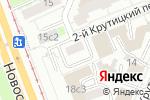 Схема проезда до компании Скрапушка в Москве