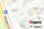 Схема проезда до компании Stampaverde в Москве
