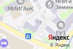 Схема проезда до компании МИИГАиК в Москве