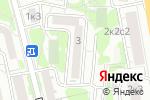 Схема проезда до компании Бизнес-Студио в Москве
