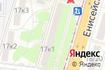 Схема проезда до компании ИнвестОйл в Москве