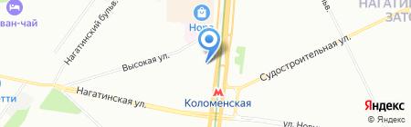 Пушкинский хлеб на карте Москвы