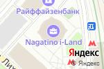 Схема проезда до компании ЮниКредит Лизинг в Москве