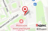 Схема проезда до компании Ворошилова и партнеры в Москве