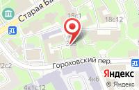 Схема проезда до компании Ликвидационная Комиссия Российского Союза Машиностроителей (Промежуточный Ликвидационный Баланс) в Москве