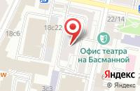 Схема проезда до компании Палма Пресс в Москве