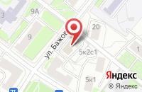 Схема проезда до компании Сосны в Москве