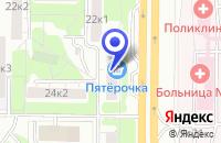Схема проезда до компании МЕБЕЛЬНЫЙ МАГАЗИН СИМОНОВО в Москве