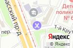Схема проезда до компании Teletie в Москве