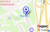 Схема проезда до компании ЗООМАГАЗИН ТРИОЛЬ в Москве
