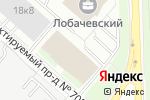 Схема проезда до компании Илекс в Москве
