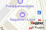 Схема проезда до компании Zoom-Star в Москве