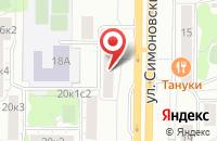 Схема проезда до компании Джаз Энд Классик Проджектс в Москве