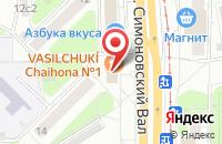 Схема проезда до компании В.А.Б. в Москве