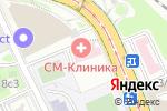 Схема проезда до компании Викитревел в Москве