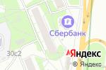 Схема проезда до компании Рыбсеть в Москве
