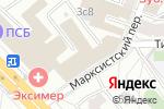 Схема проезда до компании ЭФ-Инжиниринг в Москве
