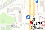 Схема проезда до компании Remokit в Москве