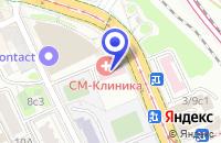 Схема проезда до компании МЕДИЦИНСКИЙ ЦЕНТР АВИЦЕННА в Москве