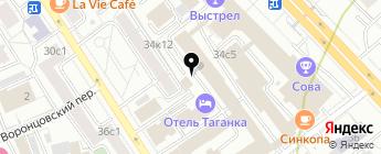 ТРАНС МАРКЕТ РУС на карте Москвы