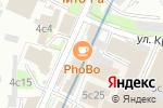Схема проезда до компании NailBox.ru Полянка в Москве