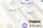 Схема проезда до компании Интрига в Москве