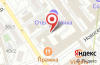 Схема проезда до компании Фасад Инвест в Москве