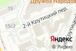 Схема проезда до компании ИнтерЭкспресс в Москве