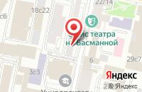 Схема проезда до компании Демис в Москве