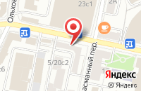 Схема проезда до компании Кортек в Москве