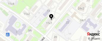 Юнавто на карте Москвы