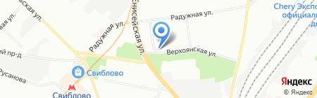 Больница на карте Москвы