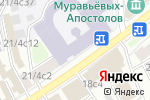 Схема проезда до компании AntiGravity Russia Center в Москве