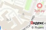 Схема проезда до компании Инженерный центр в Москве
