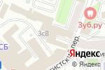 Схема проезда до компании 4 business в Москве