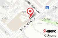 Схема проезда до компании Мгсн-Риэлти в Москве