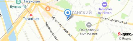 ИнфТех на карте Москвы