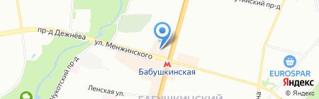 Великолукский Мясокомбинат на карте Москвы