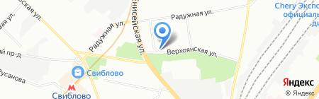 КАРДИОЛОГИЯ на карте Москвы