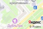 Схема проезда до компании Холодок в Москве