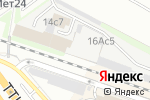 Схема проезда до компании Экономный Дед Мороз в Москве