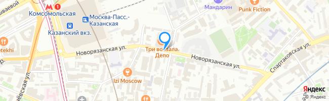 Новорязанская улица