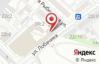Схема проезда до компании Академия Анестезиологии, Реаниматологии и Интенсивной Терапии в Москве