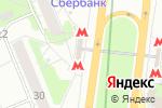 Схема проезда до компании Станция Коломенская в Москве